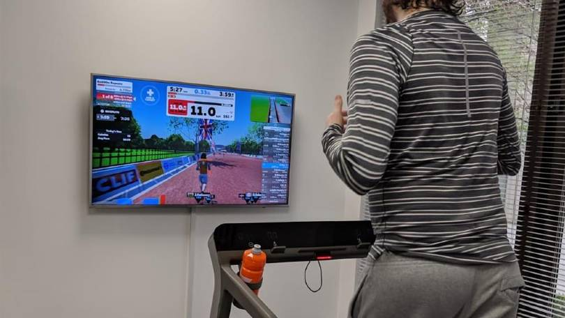 Treadmill for Zwift