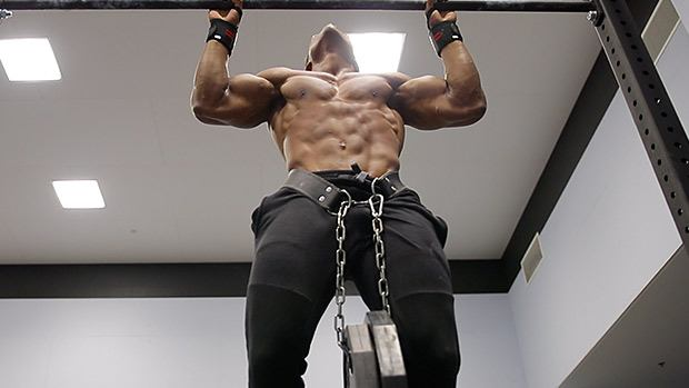 Weighted pull up