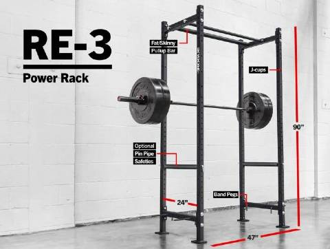Rogue Echo RE-3 Power Rack
