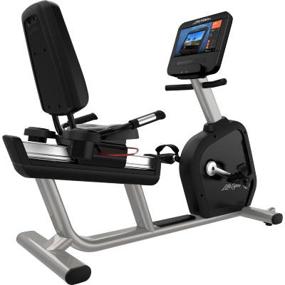 Life Fitness Platinum Club Series Recumbent Lifecycle Exercise Bike