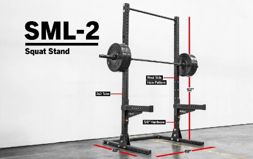Rogue SML-2 90'' Monster Squat Stand