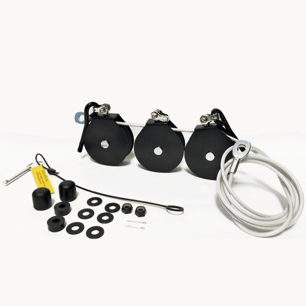 Total Gym Pulley Assembly