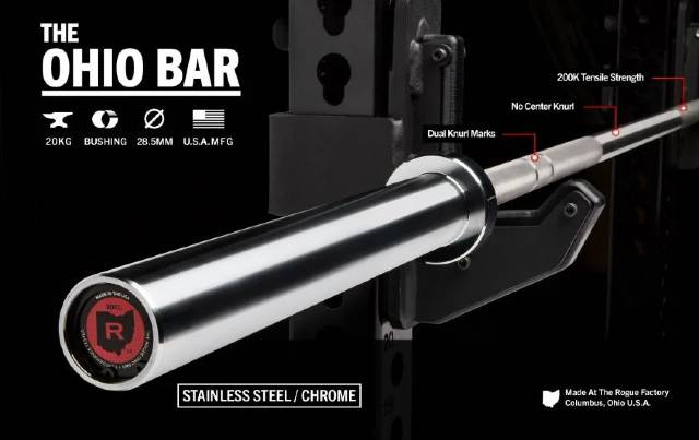 The Rogue Stainless Steel Ohio Bar